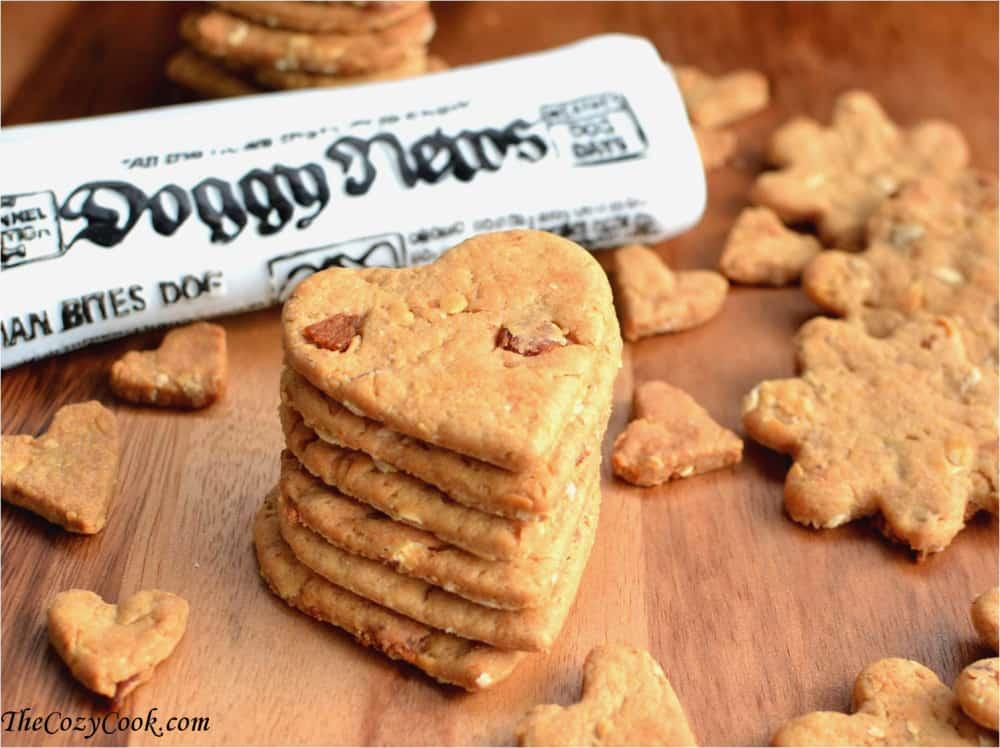 All Natural Peanut Butter Dog Treats Recipe