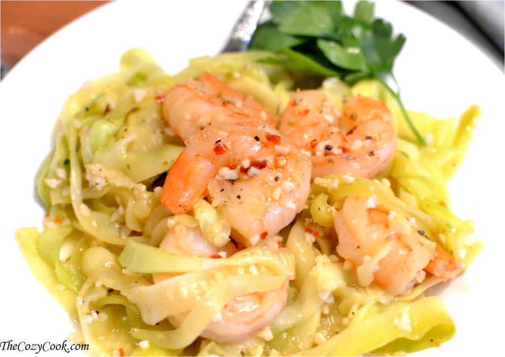 Zucchini Shrimp Scampi (2)