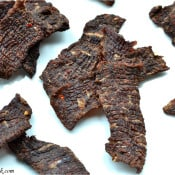 Beef Jerky – homemade style