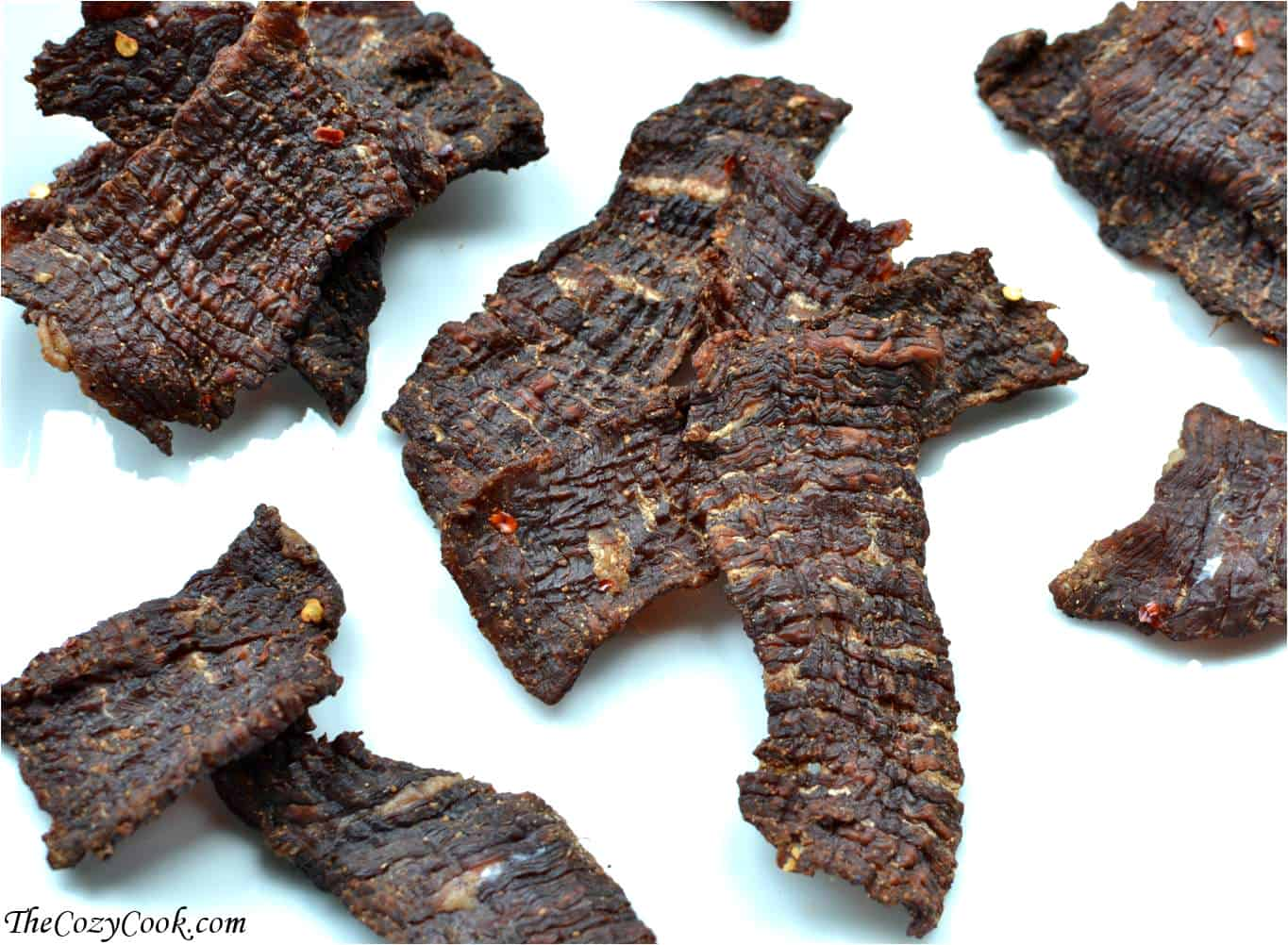 Beef Jerky - homemade style - The Cozy Cook