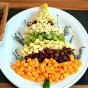 Christmas Tree Cheese Platter & Holiday Party