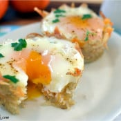 Hash Brown Cups & Eggs