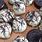 No Bake Oreo Truffles & Cookbook Giveaway!
