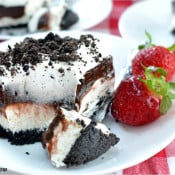 No Bake Oreo Delight (& Cookbook Giveaway!)