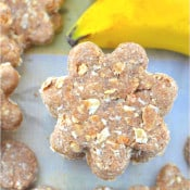 Peanut Butter Oatmeal Banana Dog Treats