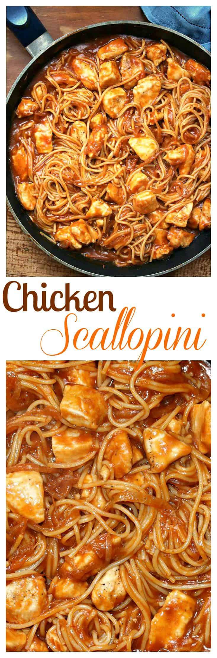 Chicken-Scallopini