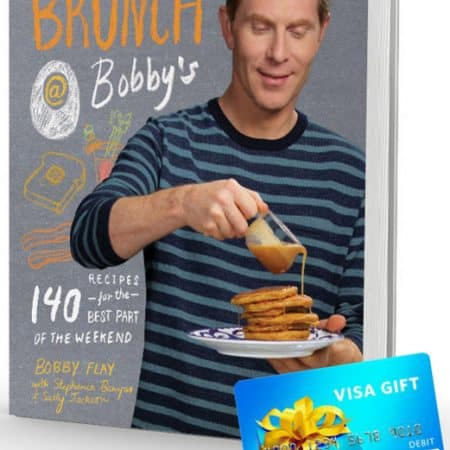 Brunch @ Bobby's Cookbook & $50 Visa Gift Card Giveaway!