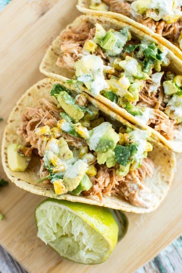 Crockpot-Raspberry-Chipotle-Chicken-Tacos