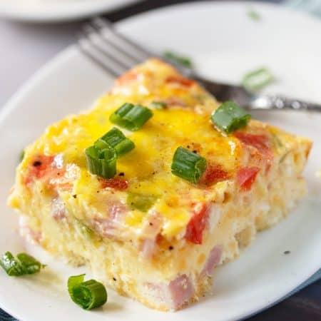 Denver Omelette Egg Bake