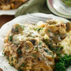 Copycat Olive Garden Stuffed Chicken Marsala The Cozy Cook