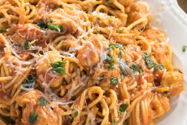 Chicken Scallopini {My favorite recipe on the blog!}