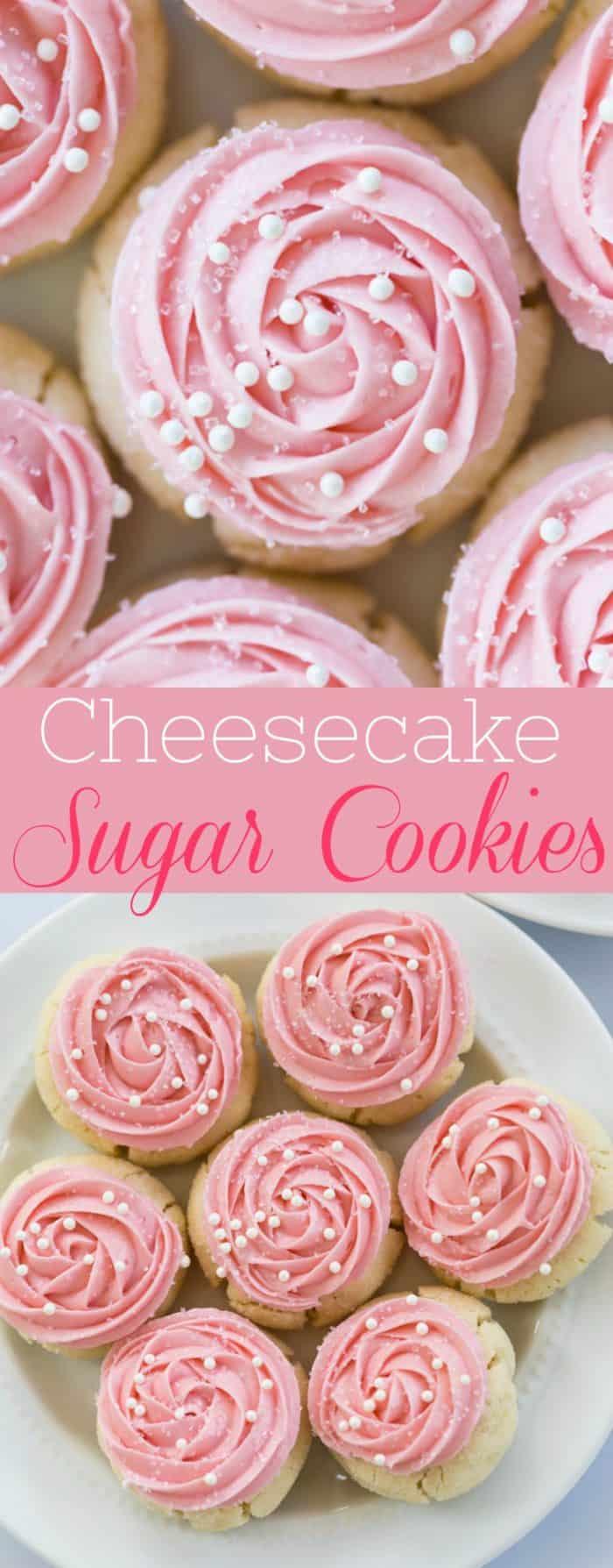 Cheesecake Sugar Cookies