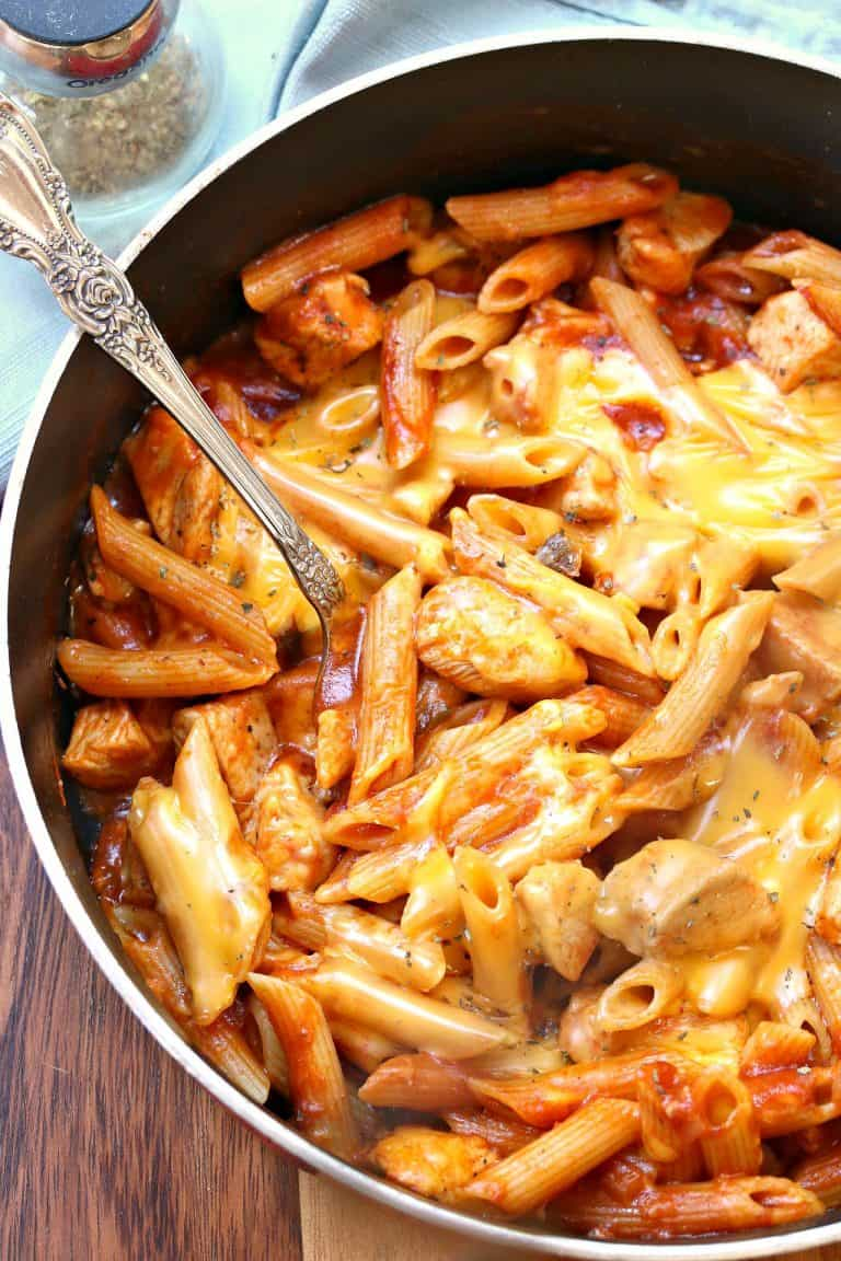 15 Budget-Friendly Recipes That Won't Leave You Hungry - One Pot Manly Cheesy Chicken Penne