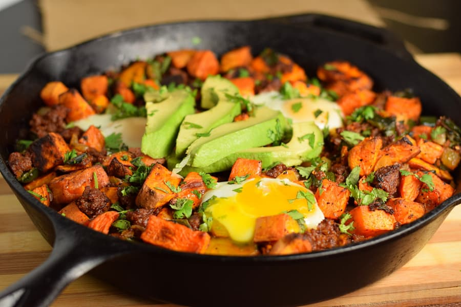 chorizo-sweet-potato-hash-recipe
