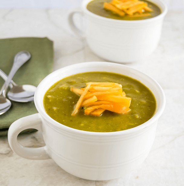 persimmons-kale-avocado-soup