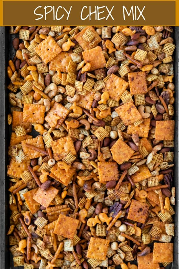 A variety of crunchy snacks, sauces, spices blend perfectly together to create this energizing & gluten free Chex Mix. | The Cozy Cook | #chexmix #snacks