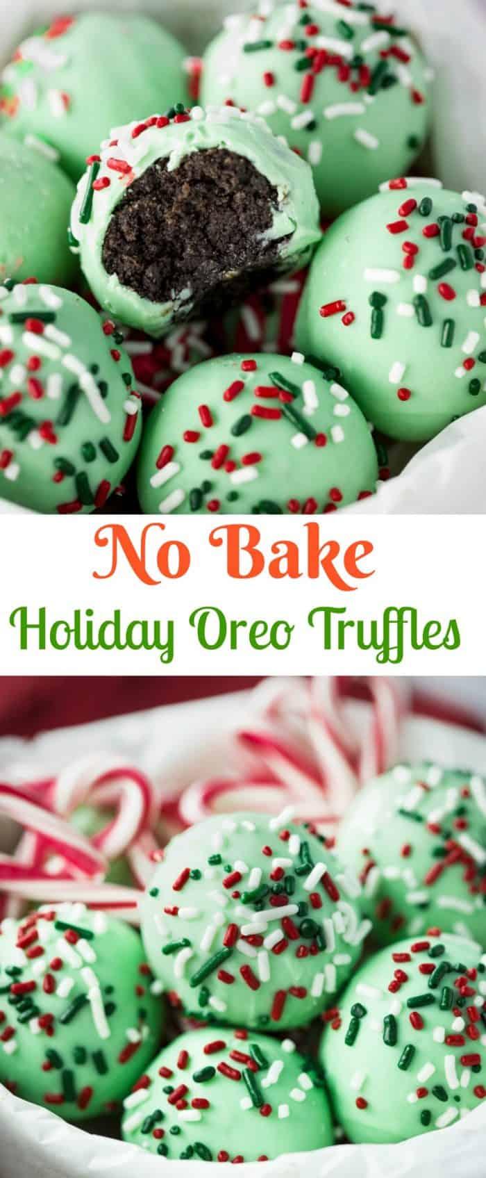 No Bake Oreo Truffles
