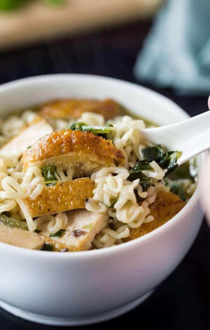 Turkey Ramen Noodle Soup
