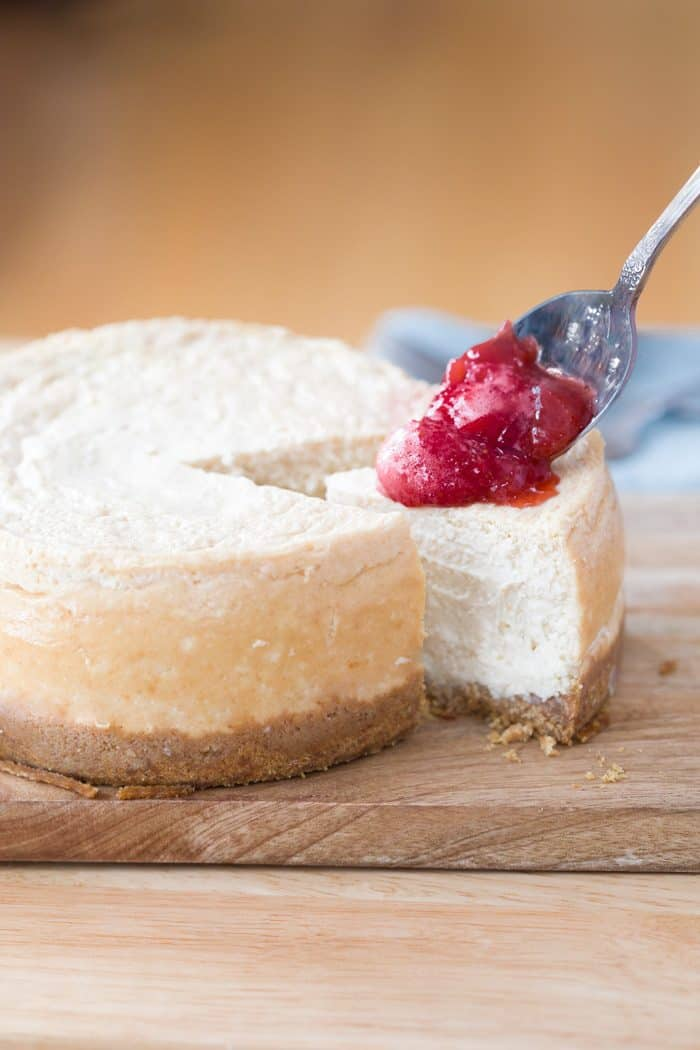 Instant-Pot-Cheesecake-Recipe