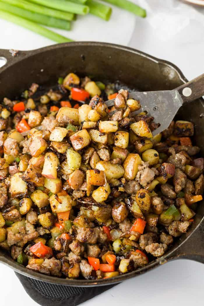 breakfast potatoes skillet