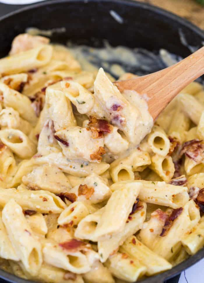 Bacon Ranch Pasta