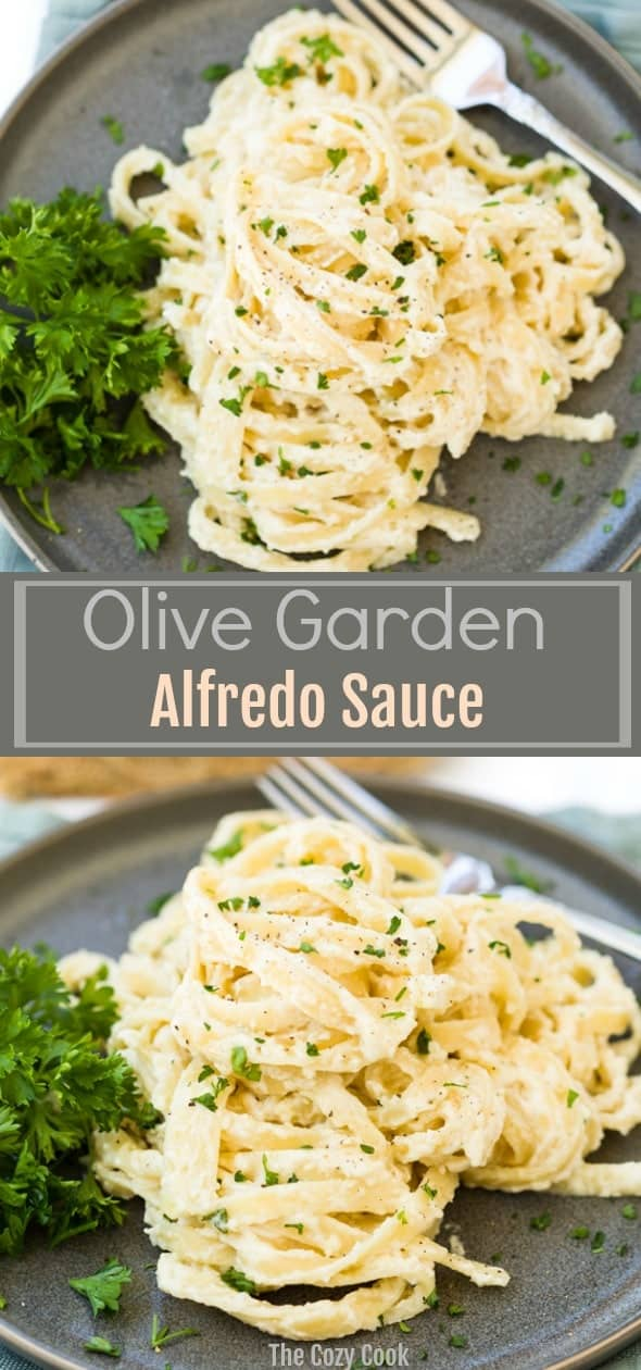 Olive Garden Alfredo Sauce The Cozy Cook