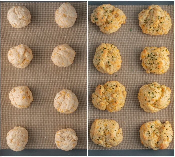 Copycat Red Lobster Cheddar Bay Biscuits - The Cozy Cook