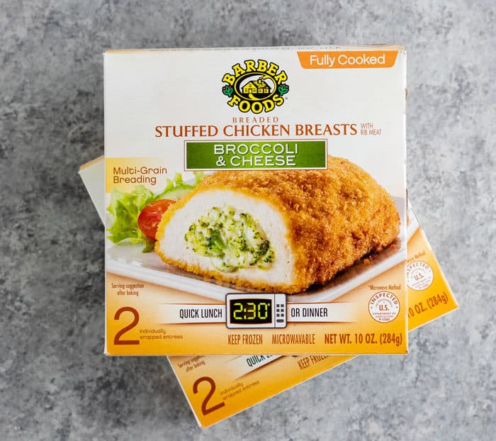 Barber Foods Stuffed Chicken Breast Boxes