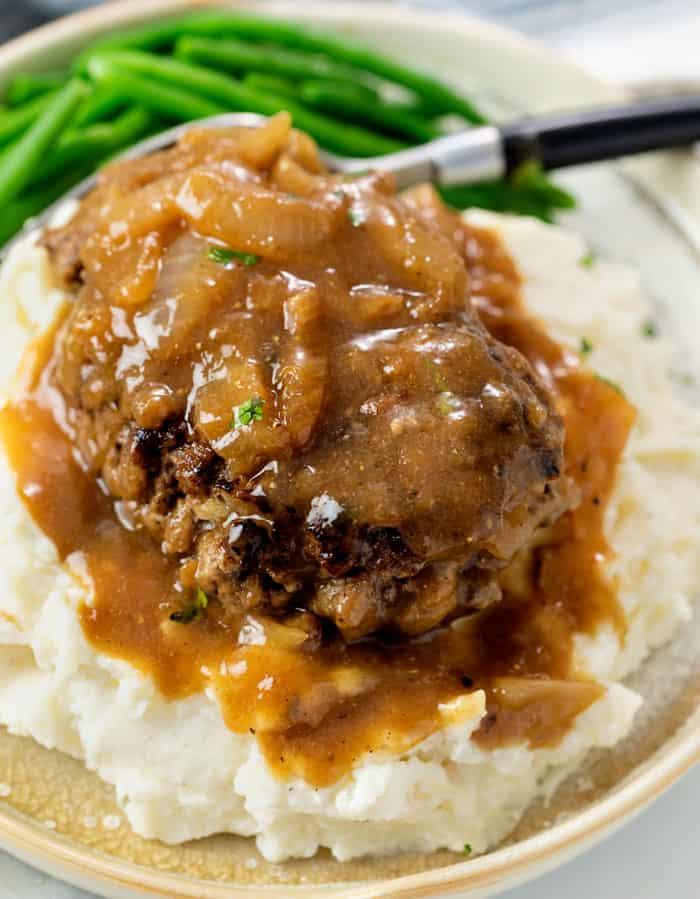 Hamburger Steak With Gravy The Cozy Cook